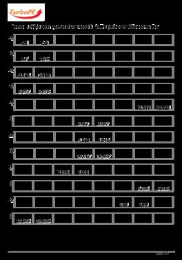 Les Suites De Nombres Decimaux Cm1
